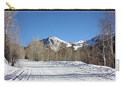Snowy Aspen Carry-all Pouch