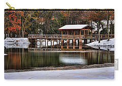 Snowy Bridge Carry-all Pouch