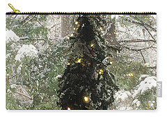 Snowy Christmas Carry-all Pouch