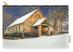 Snowy Cloudland Presbyterian Church  Carry-all Pouch
