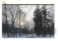 Snowy Crossroads Carry-all Pouch