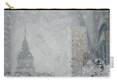 Snowy Day - Market Street Saint Louis Carry-all Pouch