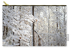 Snowy Dogwood Bloom Carry-all Pouch