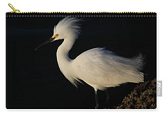 Snowy Egret, Florida Carry-all Pouch