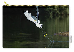 Snowy Egrets 080917-4290-1cr Carry-all Pouch