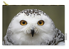 Snowy Eyes Carry-all Pouch