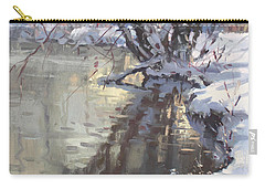 Snowy Hyde Park Carry-all Pouch
