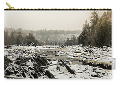 Snowy Morning At Jay Cooke Carry-all Pouch
