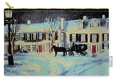 Snowy Night At The Inn Carry-all Pouch