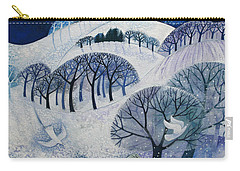 Snowy Night  Carry-all Pouch by Lisa Graa Jensen