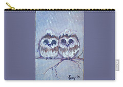 Snowy Owl Chicks Carry-all Pouch