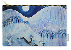 Snowy Peace Carry-all Pouch by Lisa Graa Jensen