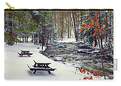 Snowy Picnic Carry-all Pouch
