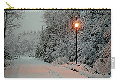 Snowy Road Carry-all Pouch