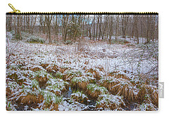 Snowy Wetlands Carry-all Pouch by Angelo Marcialis