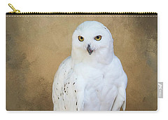 Snowy White Carry-all Pouch