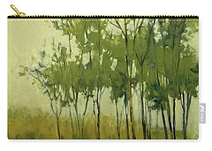 So Tall Tree Forest Landscape Painting Carry-all Pouch