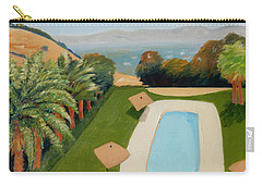 Carry-all Pouch featuring the painting So Very California by Gary Coleman