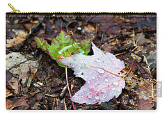 Soaken Leaves Carry-all Pouch