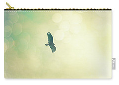 Carry-all Pouch featuring the photograph Soar by Melanie Alexandra Price