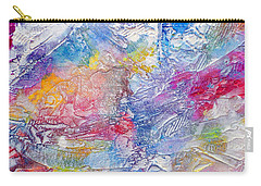 Carry-all Pouch featuring the painting Soaring Ever Higher by Tracy Bonin