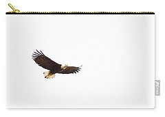 Carry-all Pouch featuring the photograph Soaring High 0881 by Michael Peychich