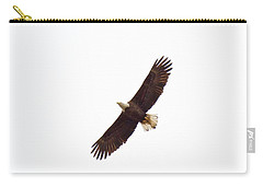 Carry-all Pouch featuring the photograph Soaring High 0885 by Michael Peychich