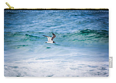 Soaring Over The Ocean Carry-all Pouch by Shelby Young