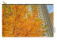 Soaring Perspective In Beantown  Carry-all Pouch by Patricia E Sundik