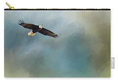 Carry-all Pouch featuring the photograph Soaring by Rebecca Cozart