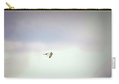 Carry-all Pouch featuring the photograph Soaring Tern. by Leif Sohlman