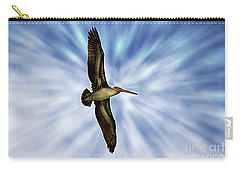 Soaring With Ease At Puerto Lopez Carry-all Pouch