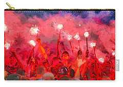 Soccer Fans Pictures Carry-all Pouch