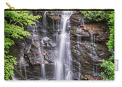 Carry-all Pouch featuring the photograph Socco Falls by Stephen Stookey