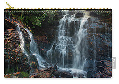 Carry-all Pouch featuring the photograph Soco Waterfalls  by Chris Flees
