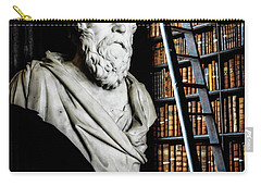 Socrates A Writer Of Knowledge Carry-all Pouch by Lexa Harpell