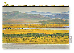 Soda Lake To Caliente Range Carry-all Pouch