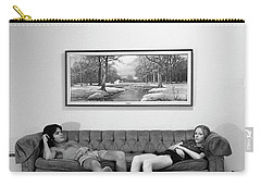 Sofa-sized Picture, With Light Switch, 1973 Carry-all Pouch