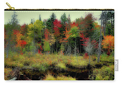 Carry-all Pouch featuring the photograph Soft Autumn Color by David Patterson