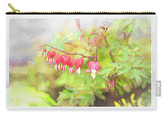 Soft Bleeding Hearts Carry-all Pouch