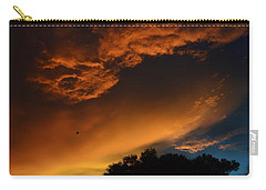 Soft Clouds And Contrast Carry-all Pouch