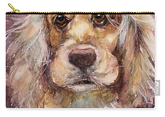 Soft Eyes Carry-all Pouch by Judith Levins