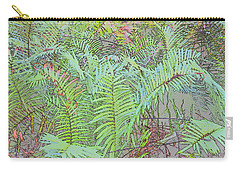 Soft Ferns Carry-all Pouch