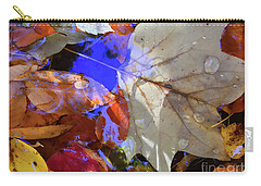 Soft Light Leaves Carry-all Pouch by Todd Breitling