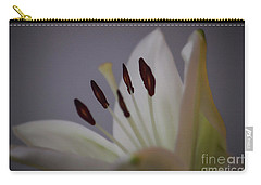 Soft Lily Carry-all Pouch by Roberta Byram