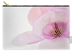 Carry-all Pouch featuring the photograph Soft Nest by Mary Jo Allen