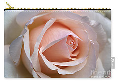 Soft Rose Carry-all Pouch by Joy Watson