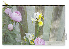 Soft Summer Flowers Carry-all Pouch