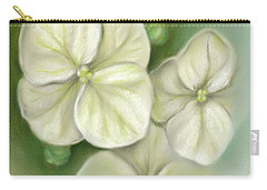 Soft Summer Hydrangea Blossoms Carry-all Pouch