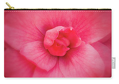 Soft Touch Camellia  Carry-all Pouch